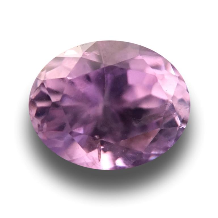 Natural Purple Sapphire Loose Gemstone Certified Ceylon - NEW