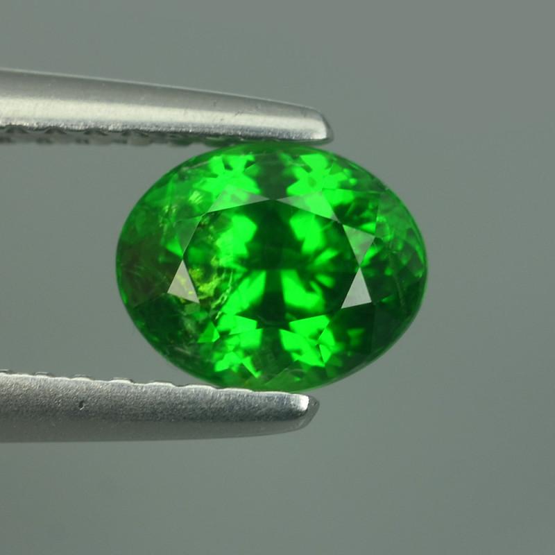 1.16CT ULTRA BRILLIANT GREEN COLOR TSAVORITE