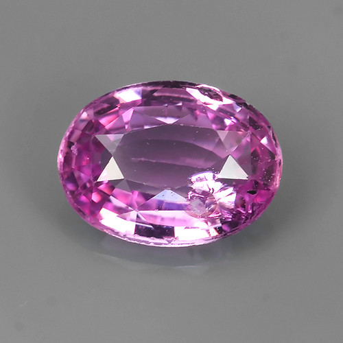 1.50 CTS AWESOME SRILANKA PINK SAPPHIRE FACETED GENUINE OVAL