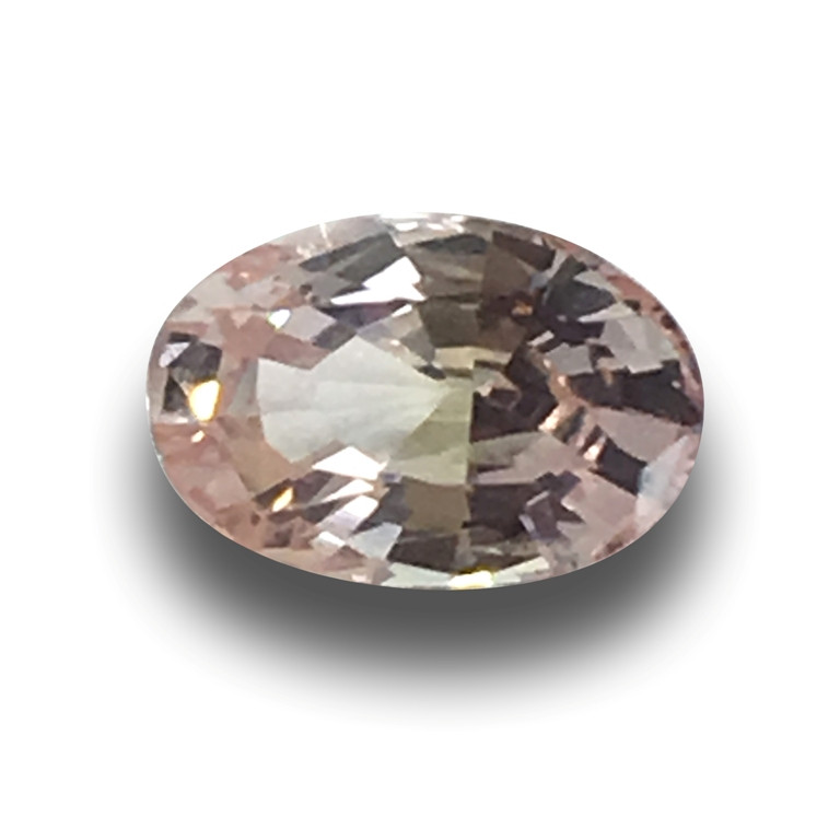 Natural Unheated Yellowish Pink Sapphire|Loose Gemstone|New|