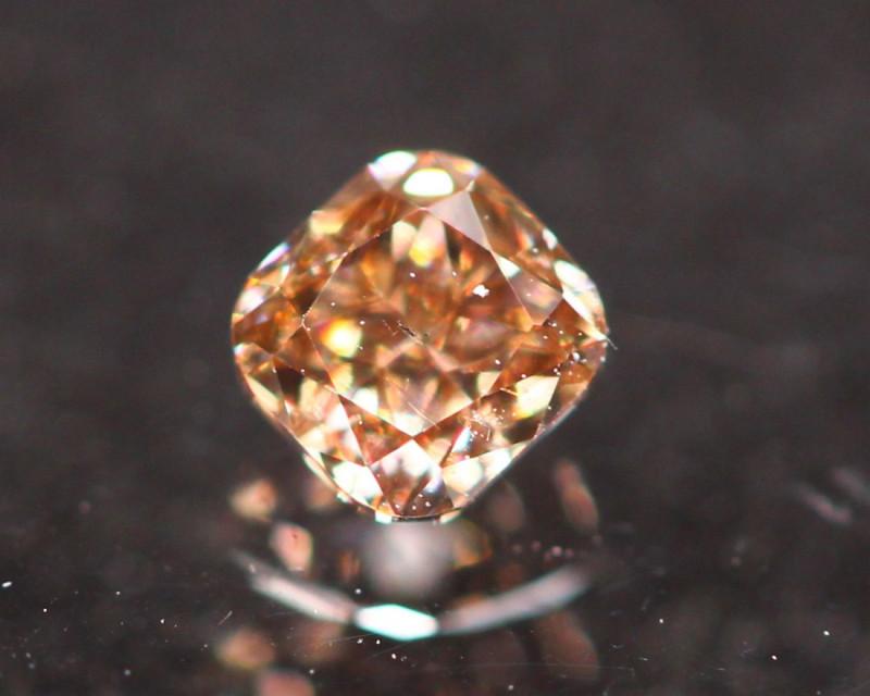 0.17Ct Fancy Cognac Natural Diamond C1401