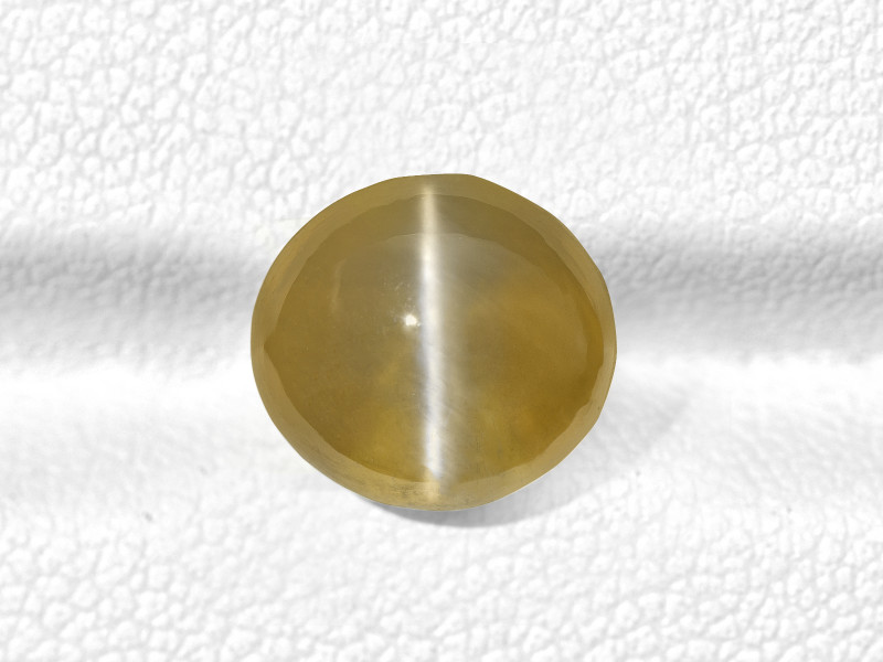 Chrysoberyl Cat's Eye, 6.15ct - Mined in India   Certified by GRS