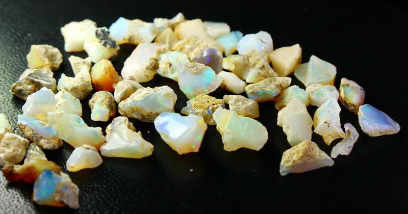100 cts Beautiful, Superb Stunning  Opal Rough Lot