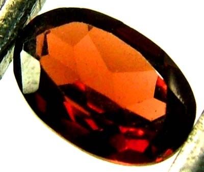 GARNET FACETED NATURAL STONE 0.55 CTS FN 4196  (TBG-GR)