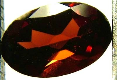 GARNET FACETED NATURAL STONE 0.55 CTS FN 4197  (TBG-GR)