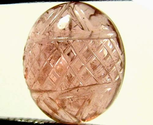 TOURMALINE CARVING 4.50 CTS  FN 4209  (PG-GR)