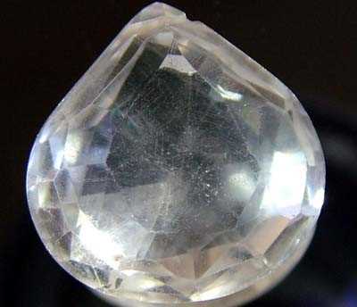 NATURAL QUARTZ FACETED 9.40 CTS FN 4217 (TBG-GR)