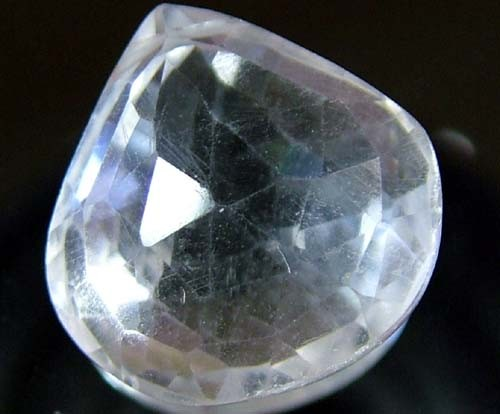 NATURAL QUARTZ FACETED 10.15 CTS FN 4220 (TBG-GR)
