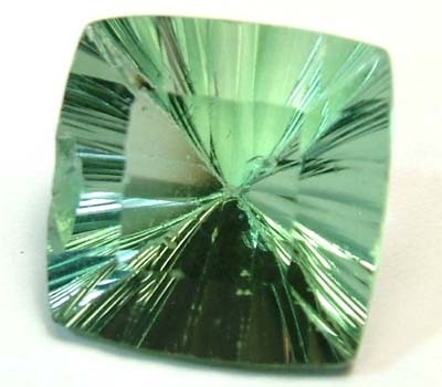 FLUORITE NATURAL FACETED STONE 12.90 CTS FN 4423 (TBG-GR)