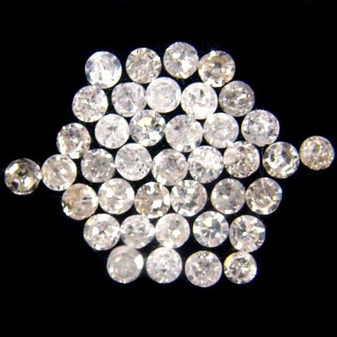 GENUINE  DIAMOND PARCEL 1.3-1.5 POINTERS 0.437 CARATS TW 169