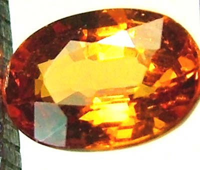 GARNET SPESSARTITE FACETED 0.70 CTS  FN 4451  (PG-GR)