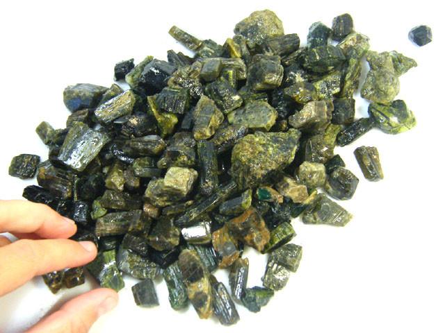 PARCEL AFGHANISTAN BLACK TORMALINE 800 GRAMS  SGS 1172