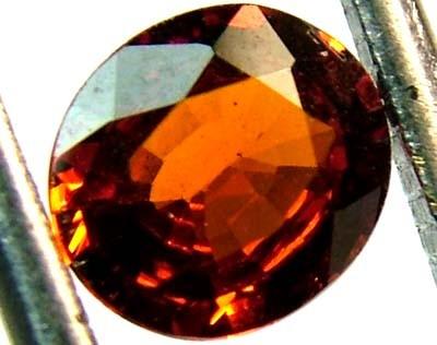 GARNET SPESSARTITE FACETED 1.15 CTS  FN 4568  (PG-GR)