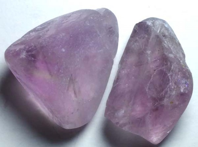 AMETHYST DRILLED BEAD (2PCS) 88.15CTS NP-1477
