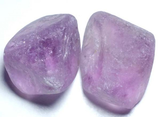 AMETHYST DRILLED BEAD (2PCS)CTS NP-1475