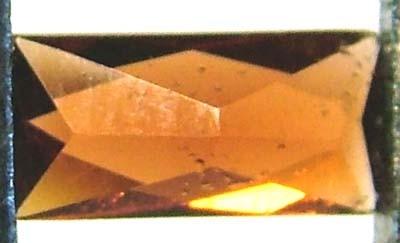 GARNET FACETED NATURAL STONE 0.45 CTS FN 4627  (TBG-GR)
