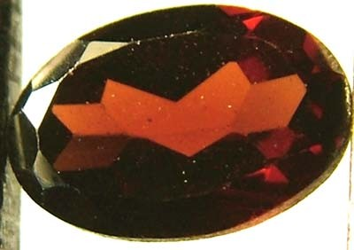 GARNET FACETED NATURAL STONE 0.55 CTS FN 4718  (TBG-GR)