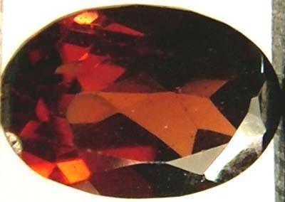 GARNET FACETED NATURAL STONE 0.60 CTS FN 4723  (TBG-GR)
