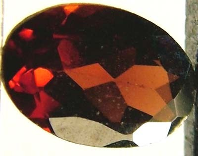 GARNET FACETED NATURAL STONE 0.60 CTS FN 4724  (TBG-GR)