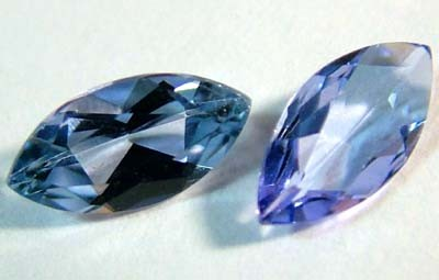 BLUE TANZANITE FACETED  0.65 CTS FN 4792 (TBG-GR)