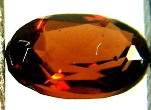 GARNET FACETED NATURAL STONE 0.55 CTS FN 4798  (TBG-GR)