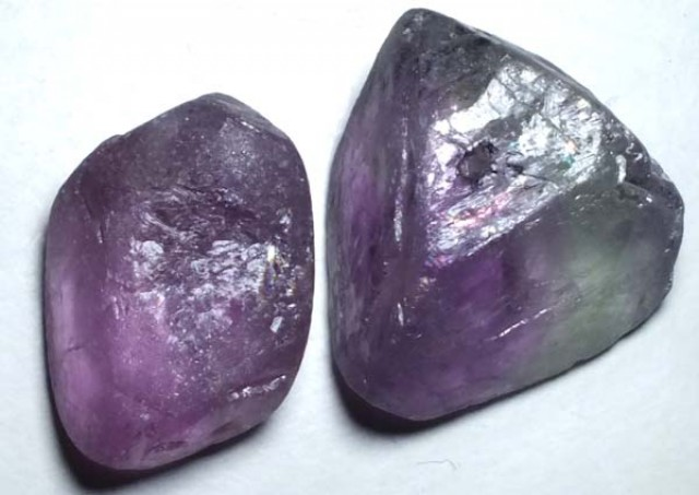 AMETHYST DRILLED BEAD (2PC) 116.75CTS NP-1484