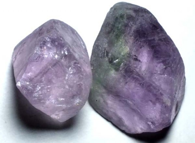 AMETHYST DRILLED BEAD (2PC) 100.25CTS NP-1486