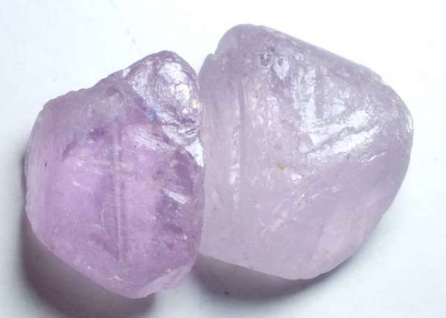 AMETHYST DRILLED BEAD (2PCS) 95.15CTS NP-1480