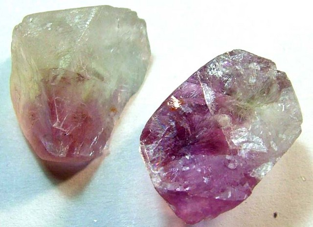 AMETHYST DRILLED BEAD (2PC) 42.45CTS NP-1488
