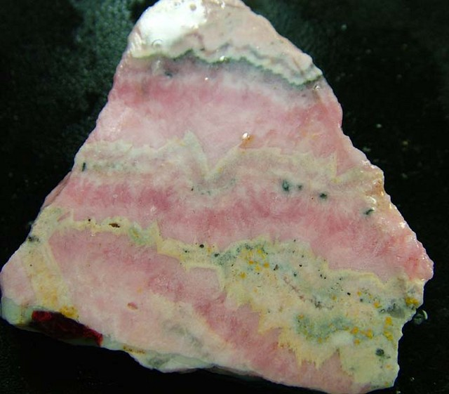 RHODOCHROSITE ROUGH SLAB 156  CTS [MX2356 ]