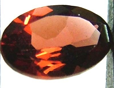 GARNET FACETED NATURAL STONE 0.55 CTS FN 4880  (TBG-GR)
