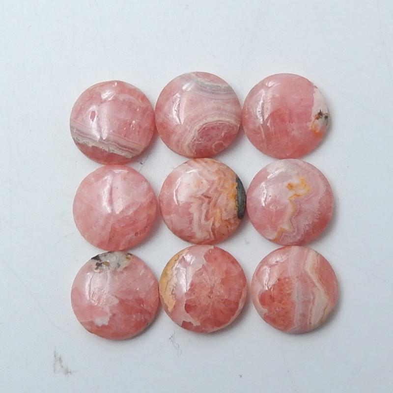 32X26 MM AAA Quality Rhodonite Cabochon,Rhodonite Gemstone,Rhodonite Loose Gemstone,Rhodonite Semi precious 50Cts.