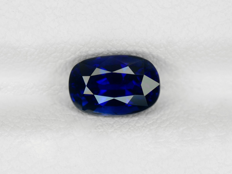 Blue Sapphire, 1.46ct - Mined in Madagascar | Certified by GRS