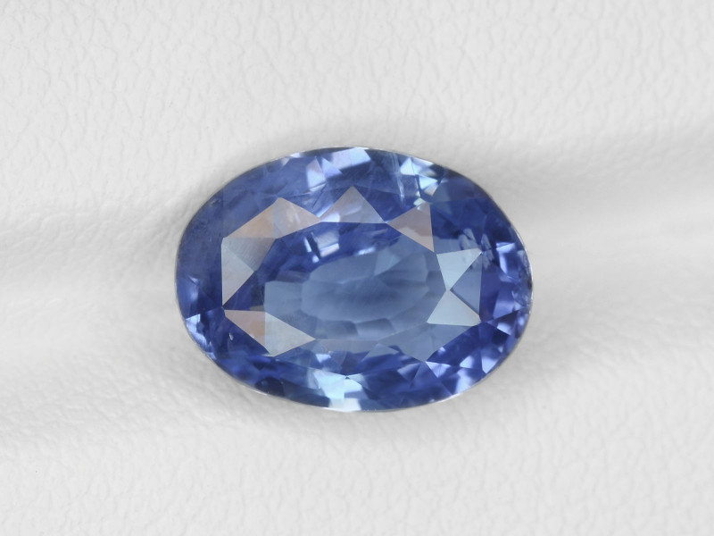 Blue Sapphire, 5.04ct - Mined in Sri Lanka | Certified by GIA