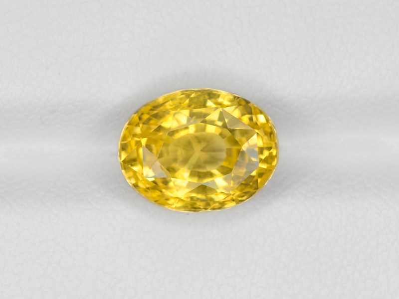 Yellow Sapphire, 5.72ct - Mined in Sri Lanka   Certified by GRS