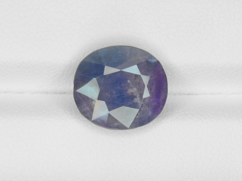Blue Sapphire, 6.03ct - Mined in Pakistan | Certified by IGI
