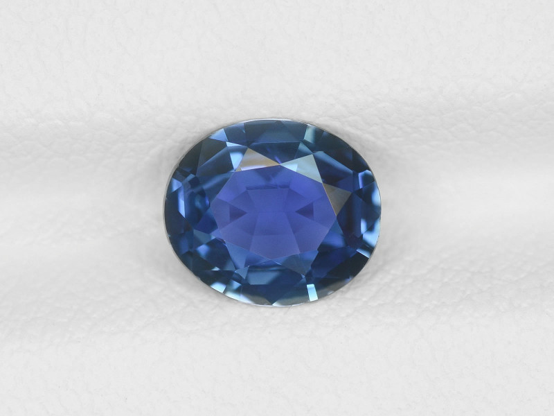 Blue Sapphire, 1.24ct - Mined in Sri Lanka | Certified by IGI