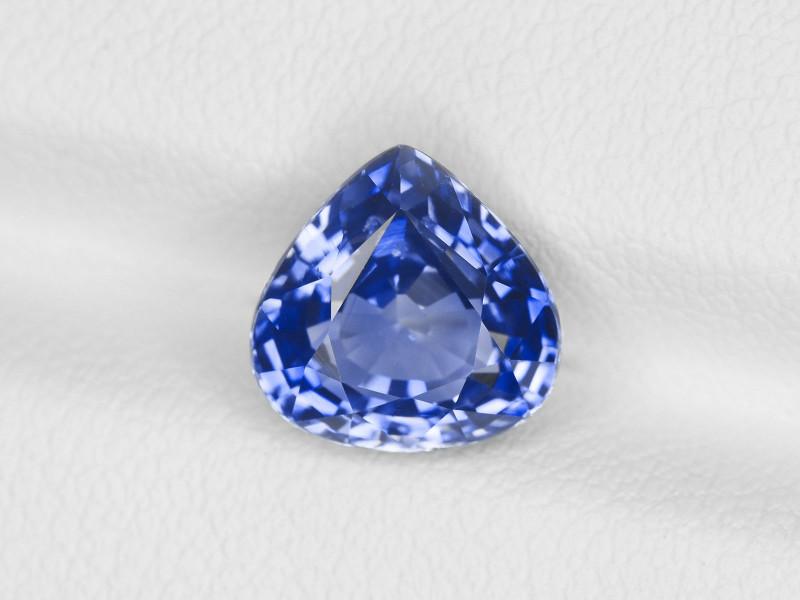 Blue Sapphire, 3.07ct - Mined in Sri Lanka | Certified by GRS