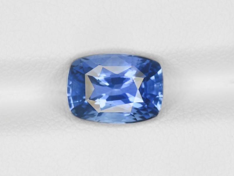 Blue Sapphire, 3.48ct - Mined in Sri Lanka | Certified by IGI
