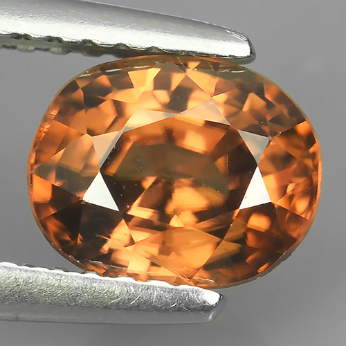 2.20 CTS ATTRACTIVE ULTRA RARE NATURAL ZIRCON OVAL EXECLLENT!!