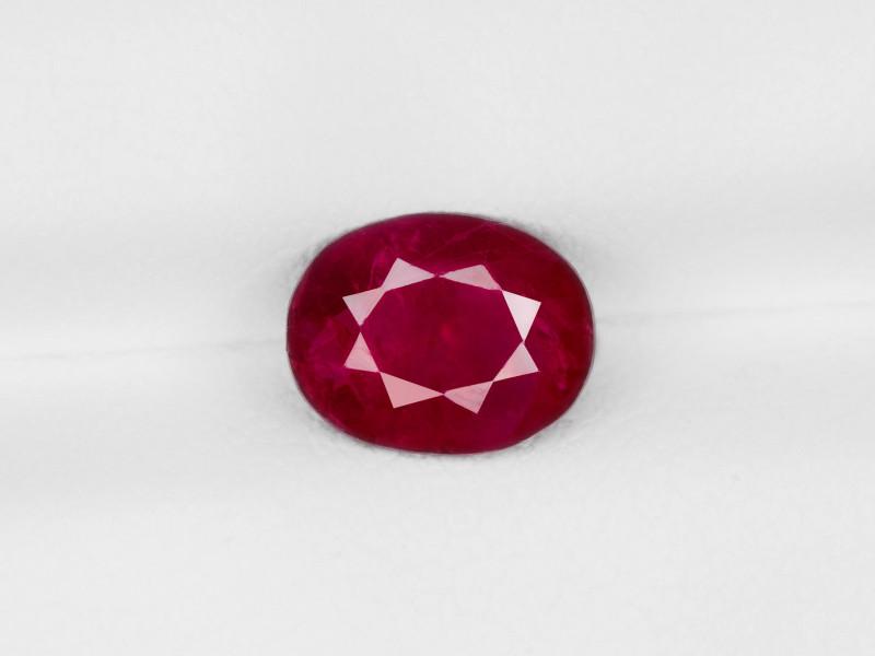 Ruby, 1.69ct - Mined in Burma | Certified by IGI