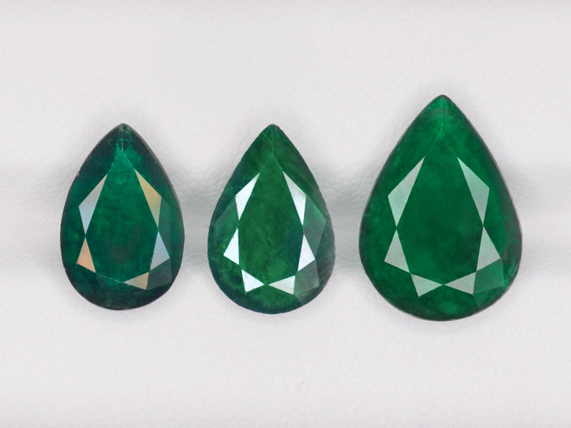 Layout of Emeralds, 9.26ct
