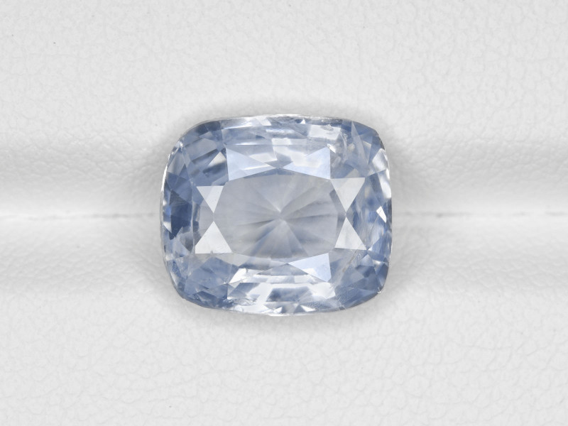 Blue Sapphire, 6.46ct - Mined in Kashmir   Certified by GIA & IGI