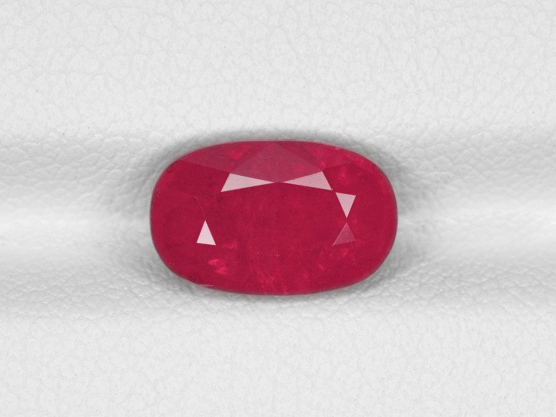 Ruby, 3.18ct - Mined in Tanzania   Certified by IGI