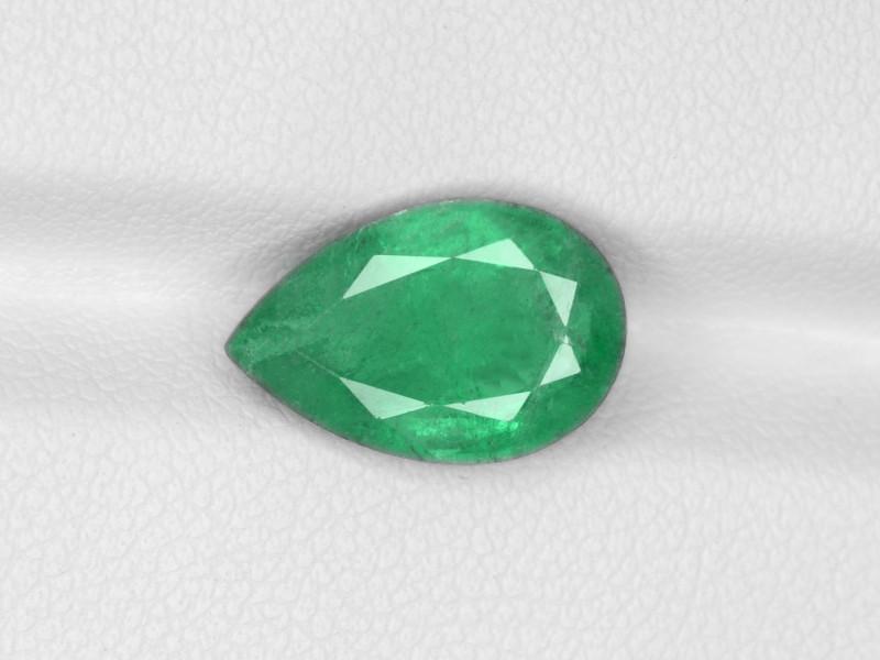 Emerald, 3.51ct - Mined in Zambia   Certified by IGI