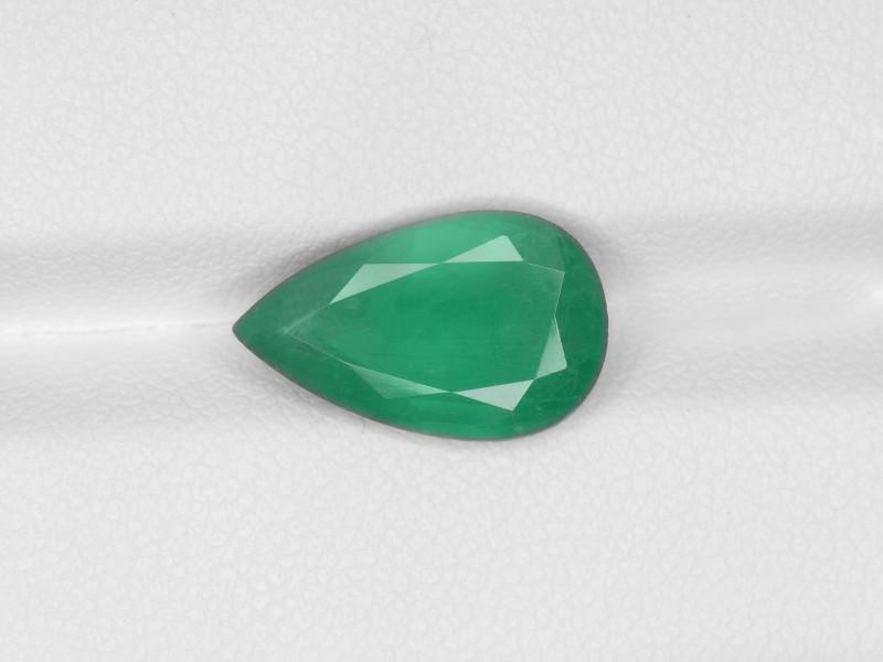 Emerald, 3.47ct - Mined in Zambia | Certified by IGI