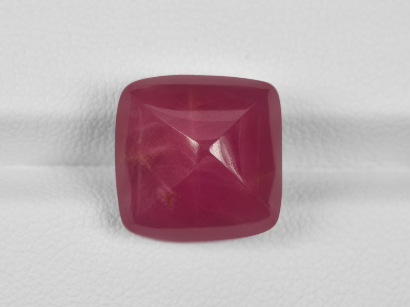 Ruby, 18.48ct - Mined in Guinea | Certified by GII