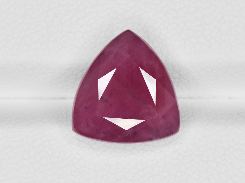 Ruby, 7.76ct - Mined in Guinea   Certified by GII