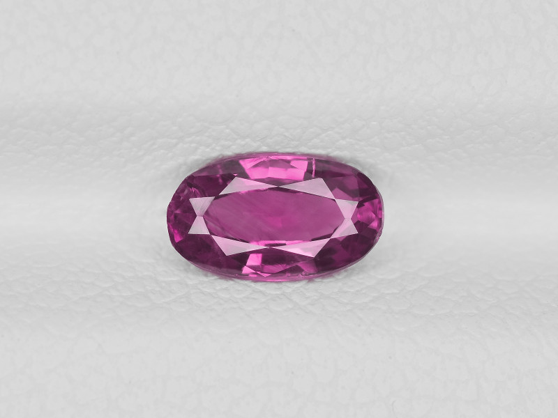 Pink Sapphire, 0.73ct - Mined in Pakistan | Certified by IGI