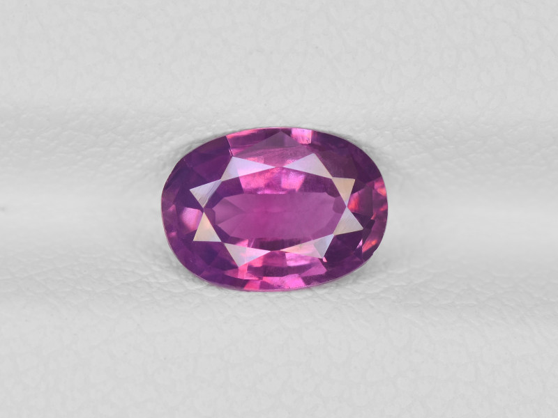Pink Sapphire, 1.22ct - Mined in Pakistan | Certified by IGI